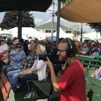 Filming at Walworth County Fair