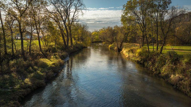 The Majestic Pine River