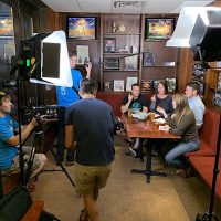 Filming at 42 Ale House