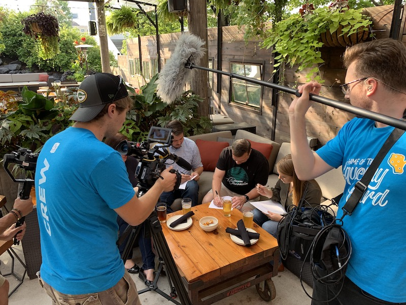 Filming at The Iron Horse Hotel
