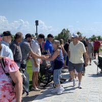 Veterans Receiving Line