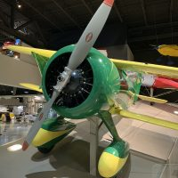 Airplane at EAA's Aviation Museum