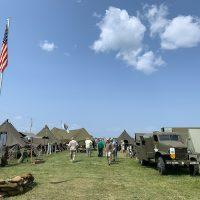 Military Encampment at EAA
