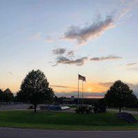 Sunset at The Highground