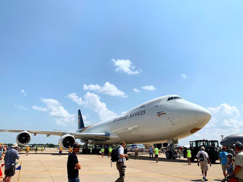747 at AirVenture