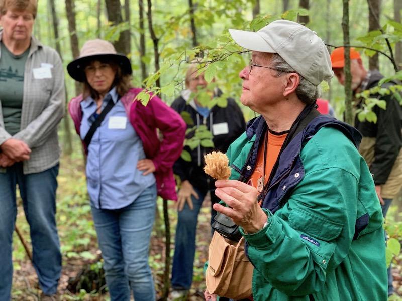 Mushroom Expert Charlotte Lukes